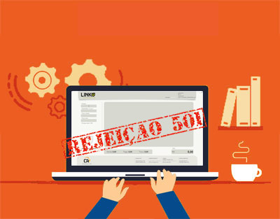 rejeição 501 prazo cancelamento cupom 30 minutos NFC-e software gestao linko comercial