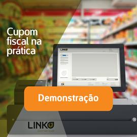 cupom fiscal eletronico nfc-e software gestao linko comercial