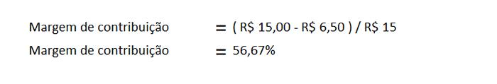 ponto equilibrio margem contribuicao financeiro