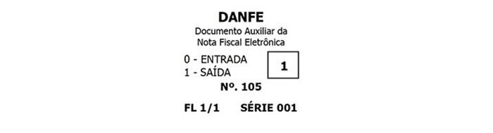 danfe identificacao operacao